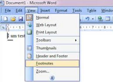 How to remove footnotes in Word