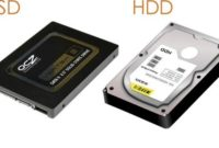 The Differences between a HDD and SSD hard drive