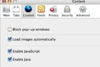 How to Disable Pop Up Blocker on Mac