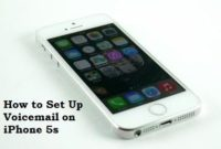 How to Set Up Voicemail on iPhone 5s