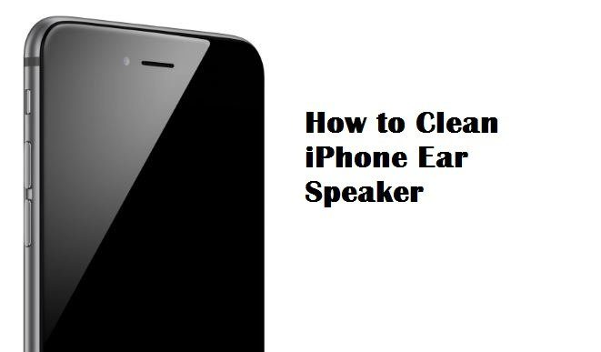 how to clean speaker on iphone how to clean iphone ear speaker pc mind 18659