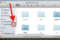 How to Eject USB from MAC