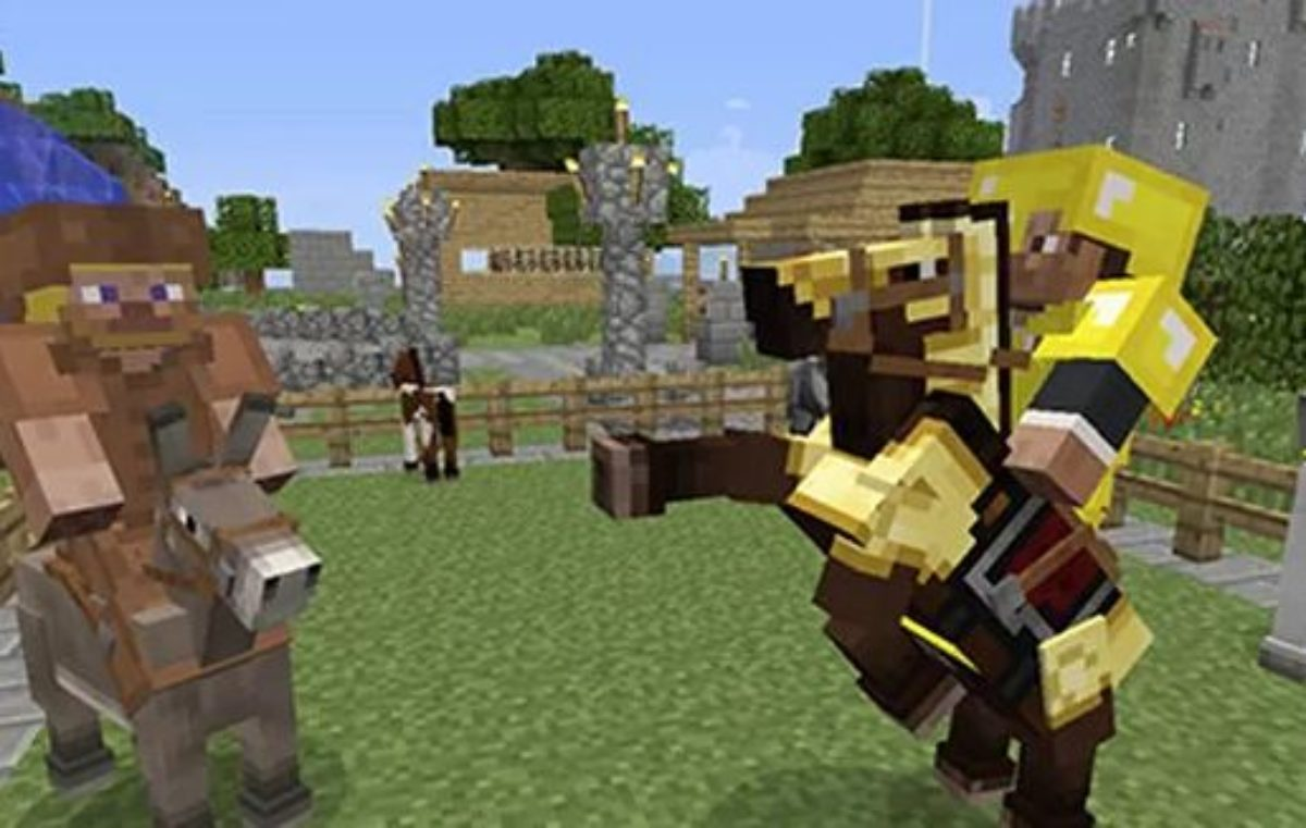 How To Tame A Horse In Minecraft Pc Mind