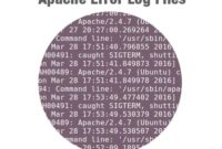 Where is the Location of the Apache Log
