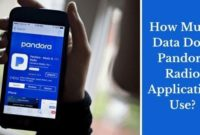 How Much Data Does Pandora Use?