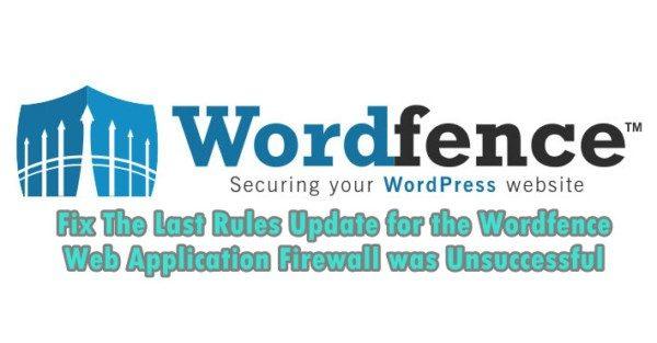 fix wordfence firewall