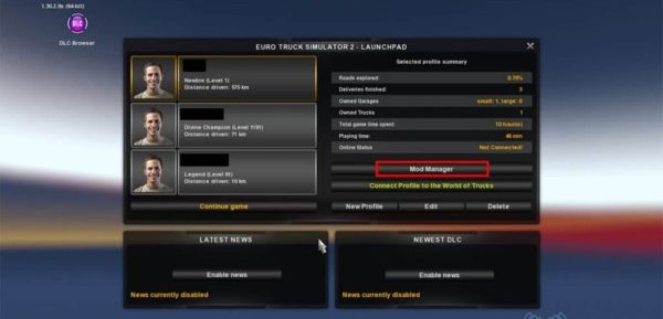 How to install Mod Euro Truck Simulator 2 (ETS2)