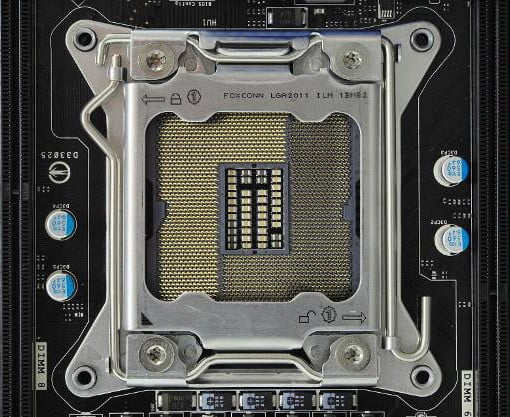 6 LGA Socket Functions on Intel Motherboard Processors