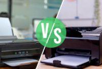 Inkjet Vs. Toner Battle of Printers