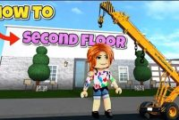 How to Make a Second Floor in Bloxburg